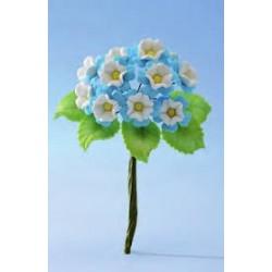 Fiori decorativi modecor azzurro