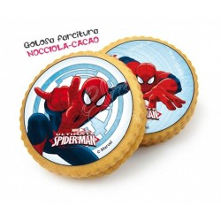 Biscotti decorati spiderman 1pz