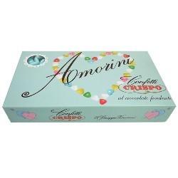 Crispo confetti amorini 1Kg bianco