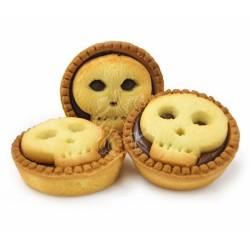 Biscotti a forma di teschio 1pz