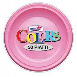 Piatti piani rosa