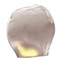 Lanterna di carta bianca