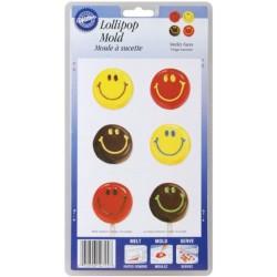 Stampo cioccolatino lecca smile