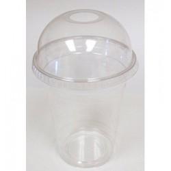 Bicchiere con cupola trasparente 50pz
