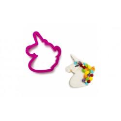 Tagliapasta in plastica unicorno