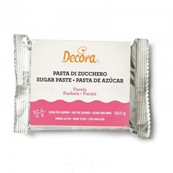 Pasta di zucchero fuscsia 250g