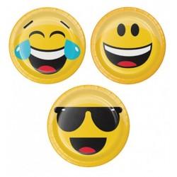 Piatto 18 cm Emoji