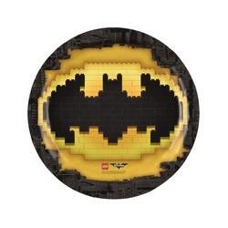 Piatto 23 cm Batman Lego
