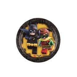 Piatto 18 cm Batman Lego