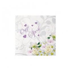 """Tovagliolo """"Oggi Sposi"""" Bouquet"""