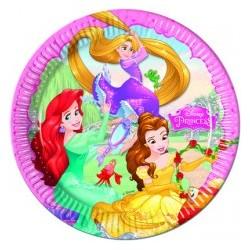Piatto 20 cm Principesse Dreaming