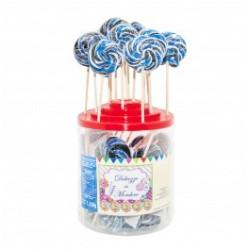 Candy canes multicolor 10pz