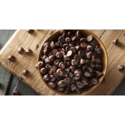 Gocce di cioccolato puro fondente 200gr