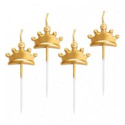 Candeline stella oro