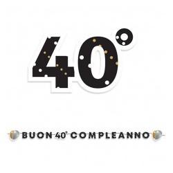 Piatti 19 cm Buon compleanno Prestige