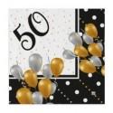 Tovaglioli Buon 50 compleanno Prestige