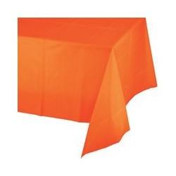 Tovaglia in plastica arancione