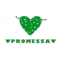 Festone kit scritta maxi promessa