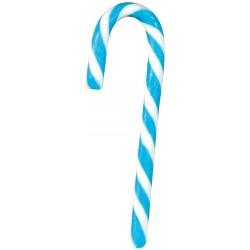 50 Manico ombrellino bianco e azzurro 15g