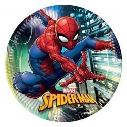 Piatto 20 cm Spiderman
